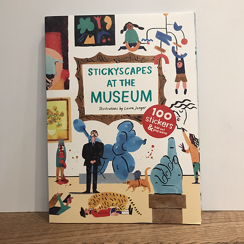 Laura Junger: Stickyscapes at the Museum Book