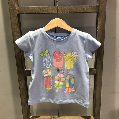 Mayoral: Ice Lolly T-Shirt - Blue