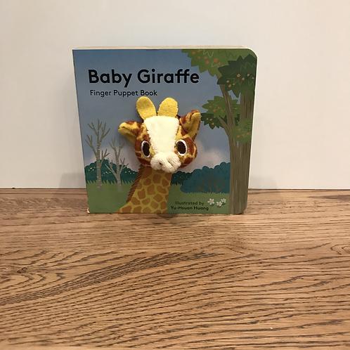 Finger Puppet Book: Baby Giraffe