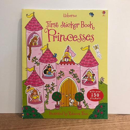 First Sticker Book Princess