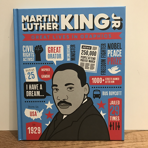Great Lives in Graphics: Martin Luther King Jr Book