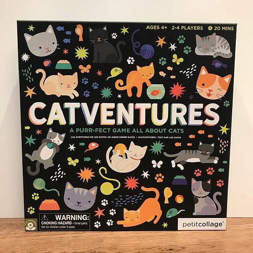 Petitcollage: Catventures Board Games