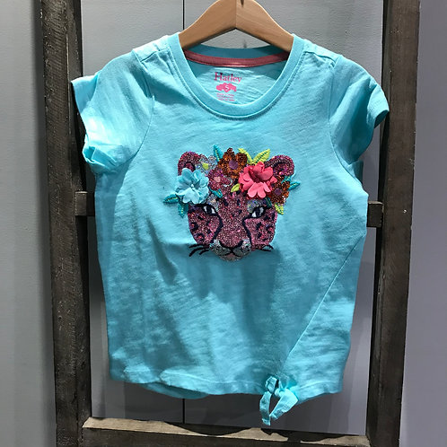 Hatley: Sequin Turquoise T. Shirt