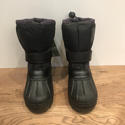 Purple Snow Boots