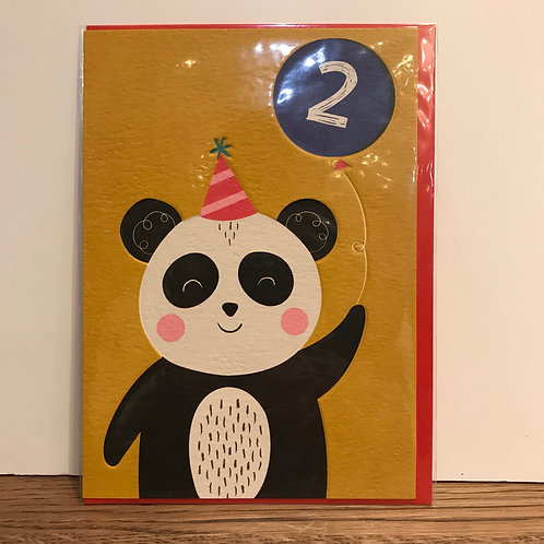 Card: Birthday (Age 2)