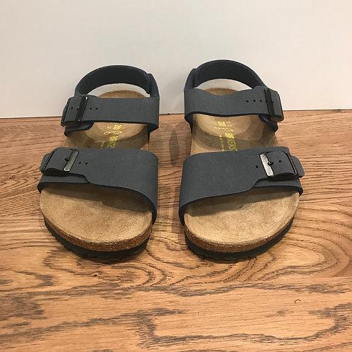 Birkenstock: New York Kids Sandal (Navy)