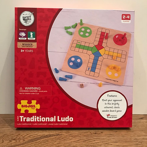 BigJigs: Traditional Ludo Game