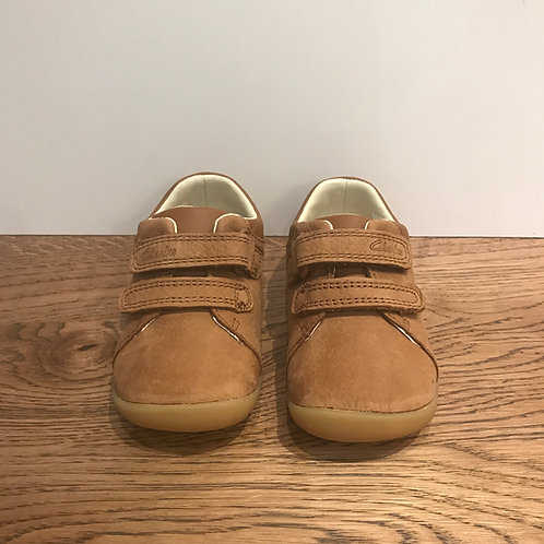 Clarks: Roamer Craft - Tan First Walker