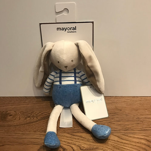 Mayoral: Bunny - Blue Soft Toy