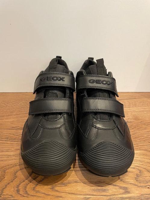 Geox: J Savage - Black School Shoes
