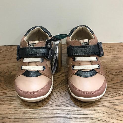 Mayoral: 42210 Pink/Navy Shoe