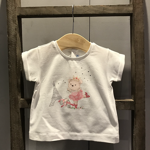 Mayoral: Eiffel Tower T-Shirt - White