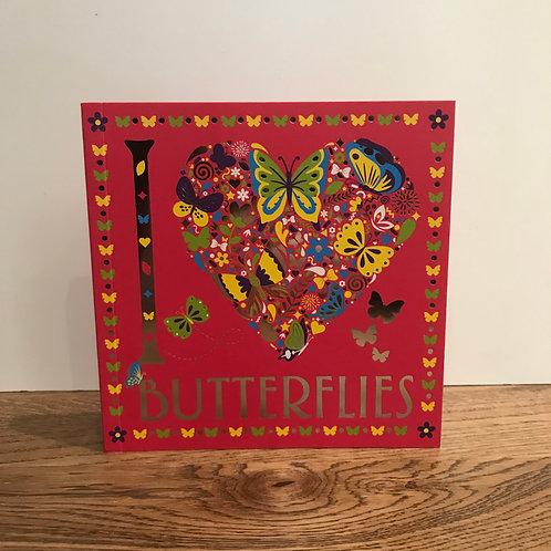 Butterflies - Colouring Book