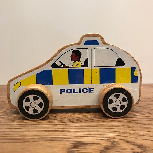 Lanka Kade: White Police Car