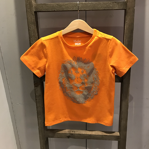 Hatley: TK1194 - Orange Lion Print T-Shirt