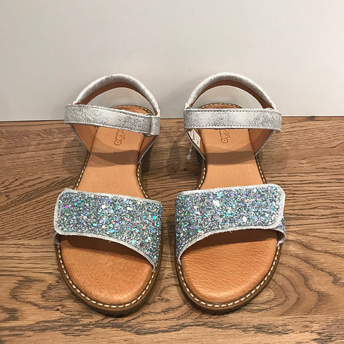Froddo: Silver Sparkle Open Toe Sandals
