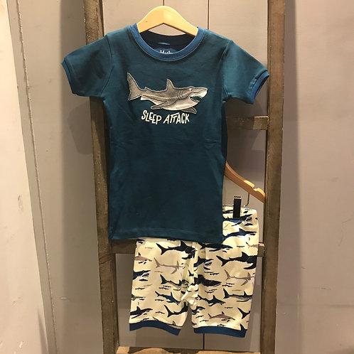 Hatley: Shark - Navy Pyjamas