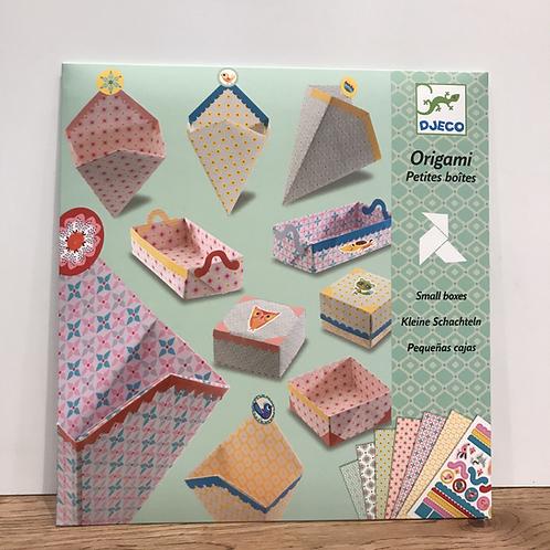 DJECO: Origami (Boxes)