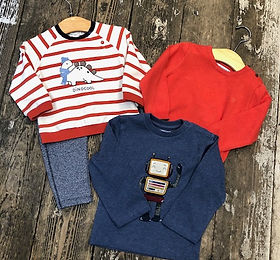 Baby boys clothing at Sid & Evie's in So