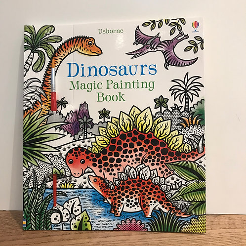 Magic Painting Book Dinosaurs