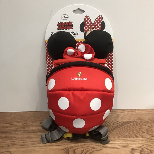 Little Life: Backpack and Reins (Minnie mouse)