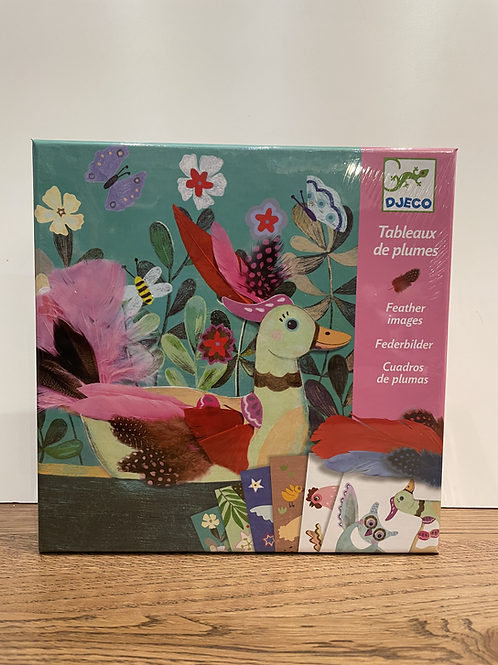 DJECO: Feather Images Craft Kit