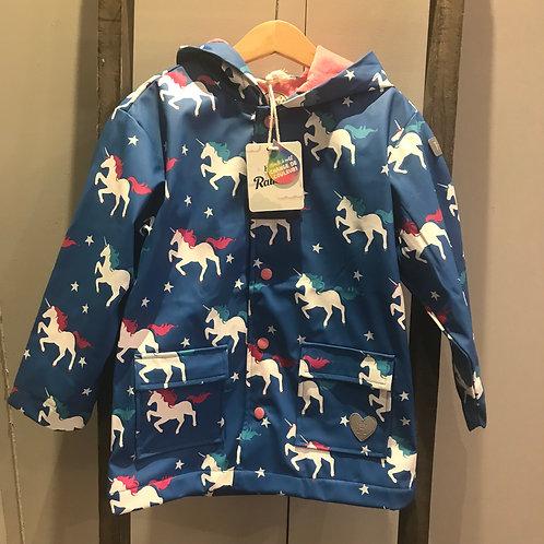 Hatley: Unicorn Colour Change Raincoat