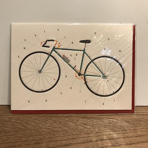 Card: Birthday (Bicycle)