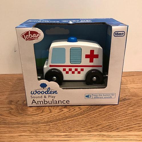 Tobar: White Ambulance