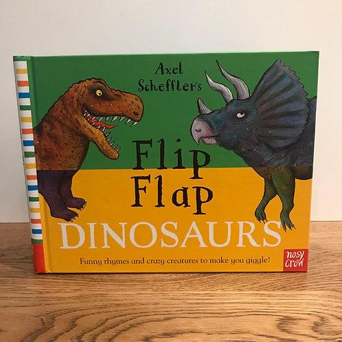Flip Flap - Dinosaurs Book