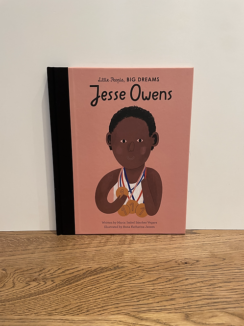 Little People Big Dreams: Jesse Owens Book