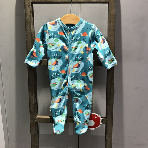Picalilly: OC17830 Baby Grow (Pond Life)