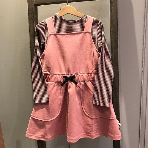 Mayoral 4937: 2 piece Pinafore Dress