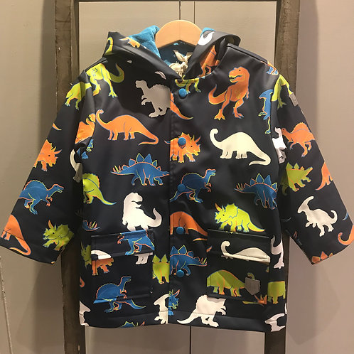 Hatley: Dino Colour Change Raincoat