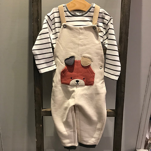 Mayoral 2689: 2 piece baby boy dungarees