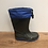 Thumbnail: Splash: Fleece-Lined Wellies (Blue)