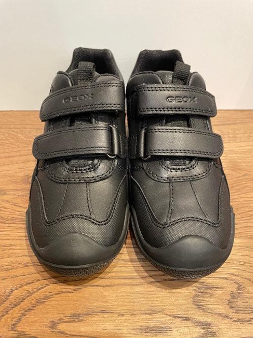 Geox: Wader - Black School Shoes