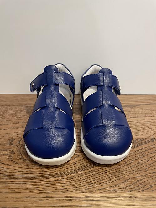 Bobux: I-Walk Tidal Closed Toe Sandal - Blueberry