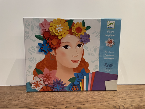 DJECO: Paper Flowers Craft Set