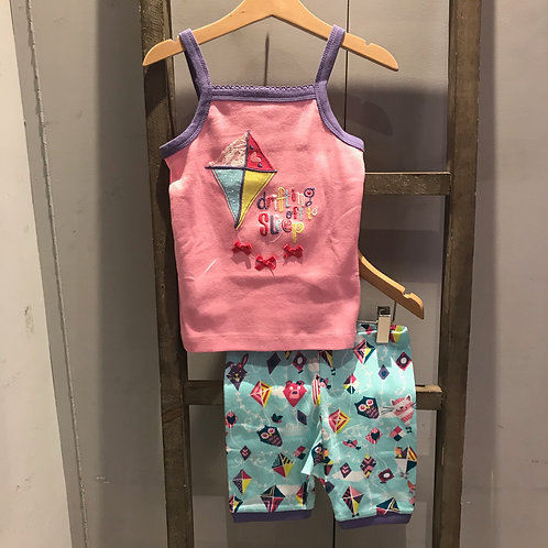 Hatley: Colourful Kite Tank - Pink Pyjamas