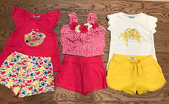 Girls summer clothing at Sid & Evie's in