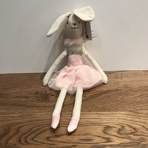 Wilberry: Soft Toy - Rabbit with Glittery Ears
