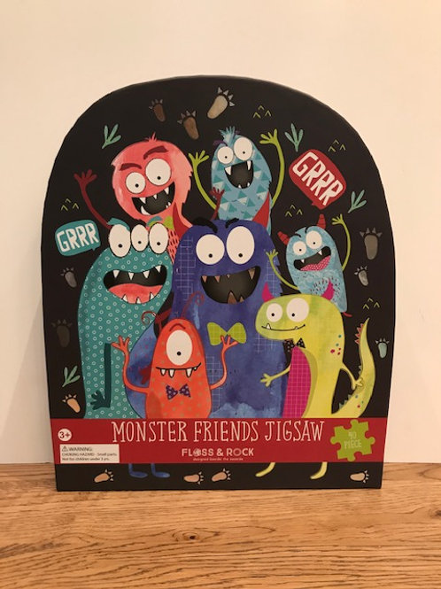 Floss & Rock: Monster Puzzle