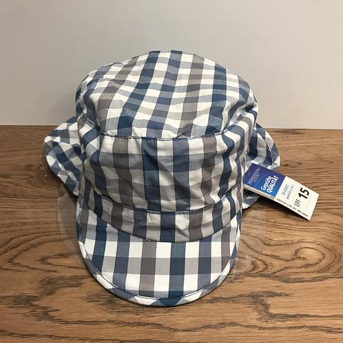 Sterntaler: Summer Hat (Blue/Grey)