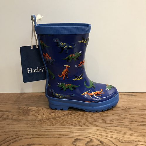 Hatley: Friendly Dino Wellies (Blue)