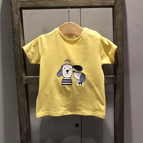 Mayoral: Puppy T-shirt (Yellow)