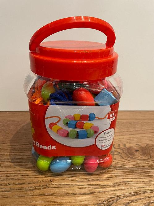 Big Jigs: Threading Beads