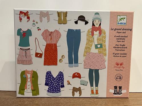DJECO: Paper Dolls Kit