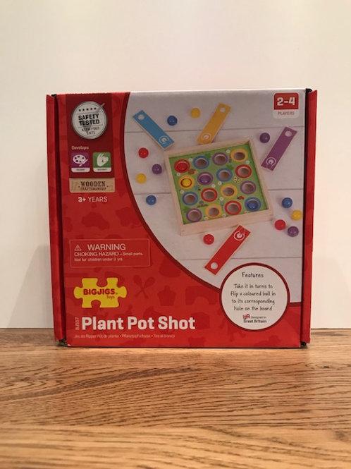 BigJigs: Plant Pot Shot Game