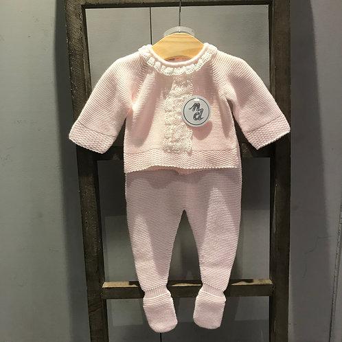 Nico Dingo: Pink knitted 2 Piece Set